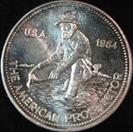 ENGELHARD Silver Bullion THE AMERICAN PROSPECTOR 1 TROY OZ .999 FINE SILVER